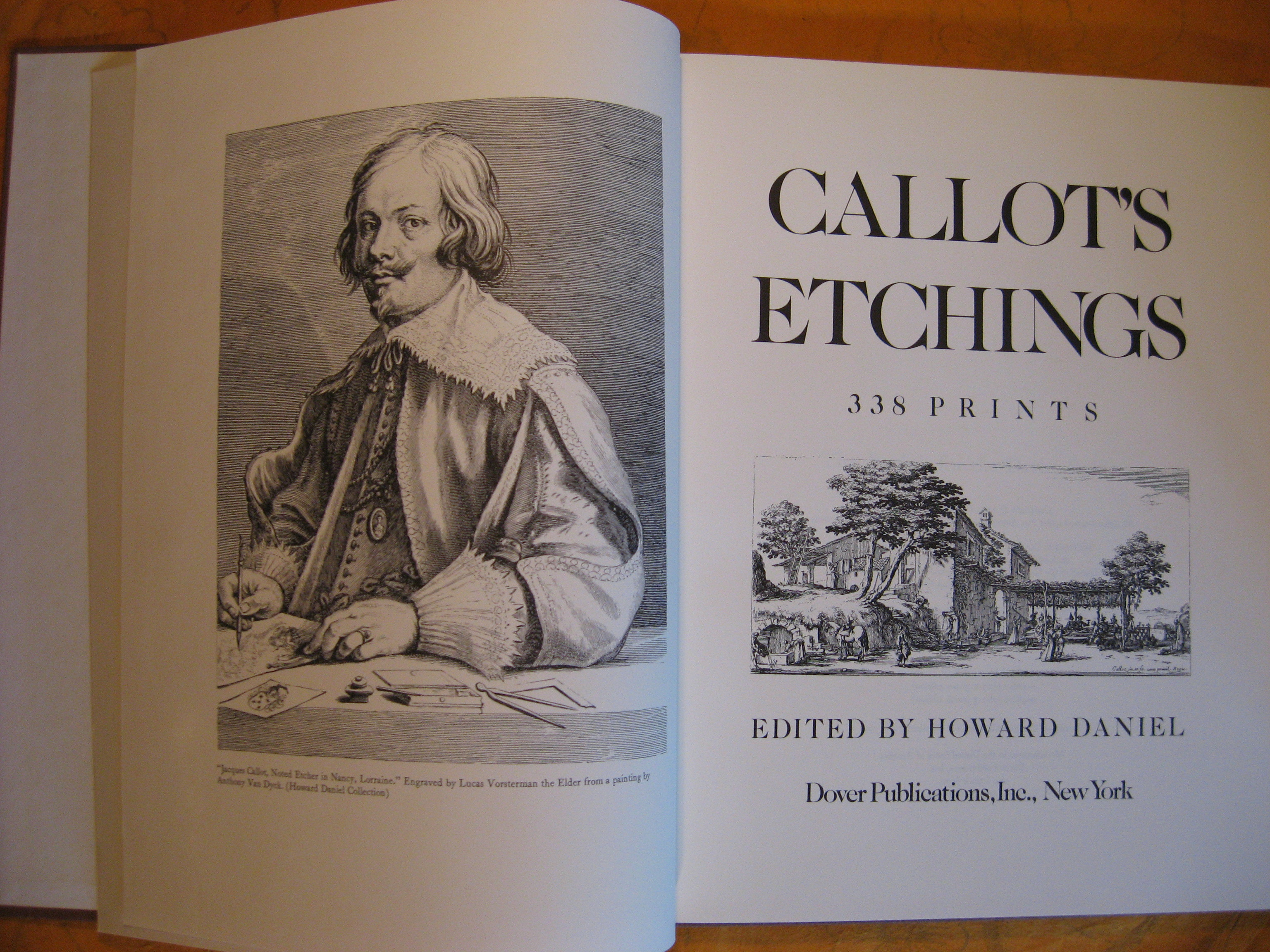 Image for Callot's Etchings