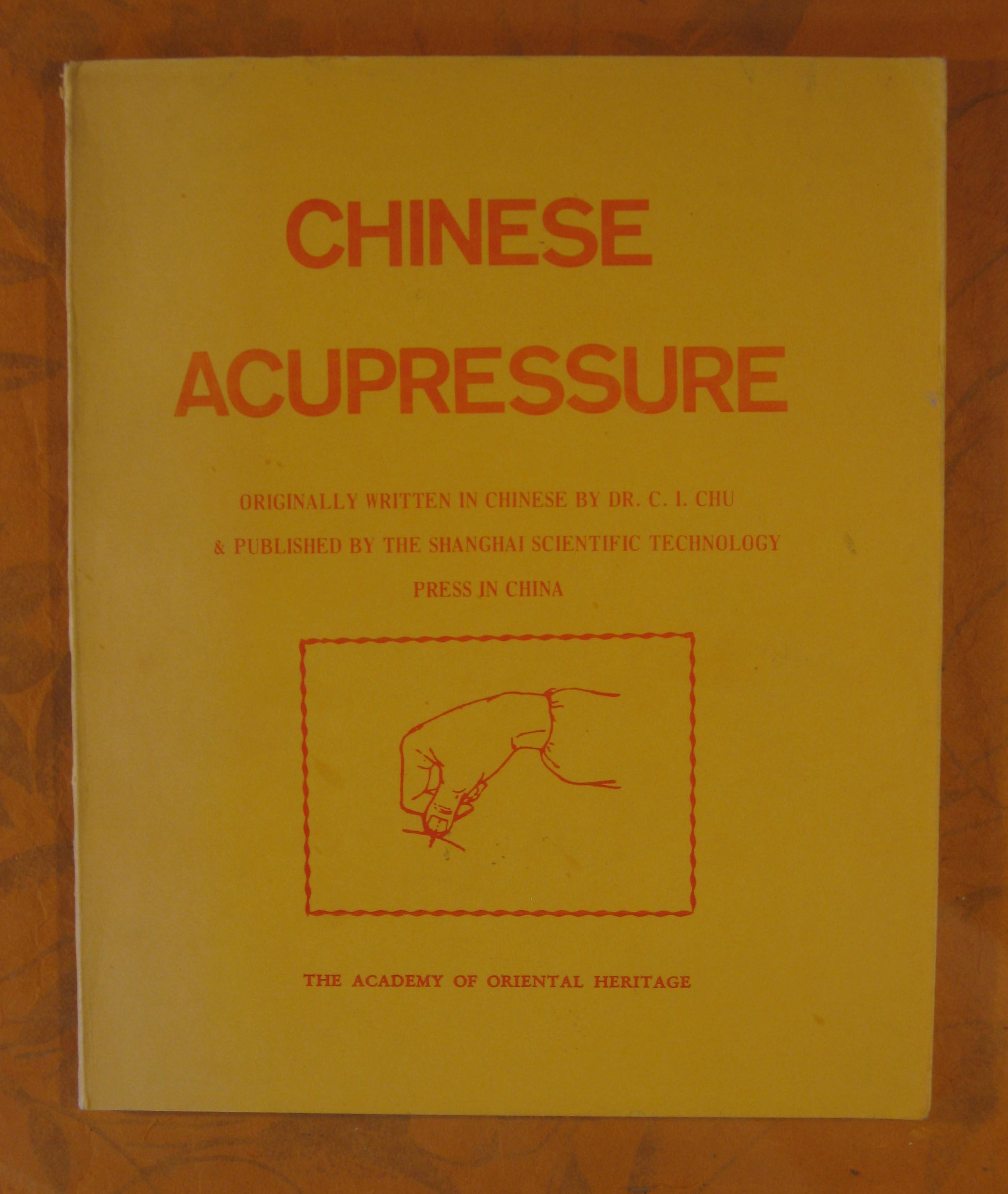 Image for Chinese Acupressure