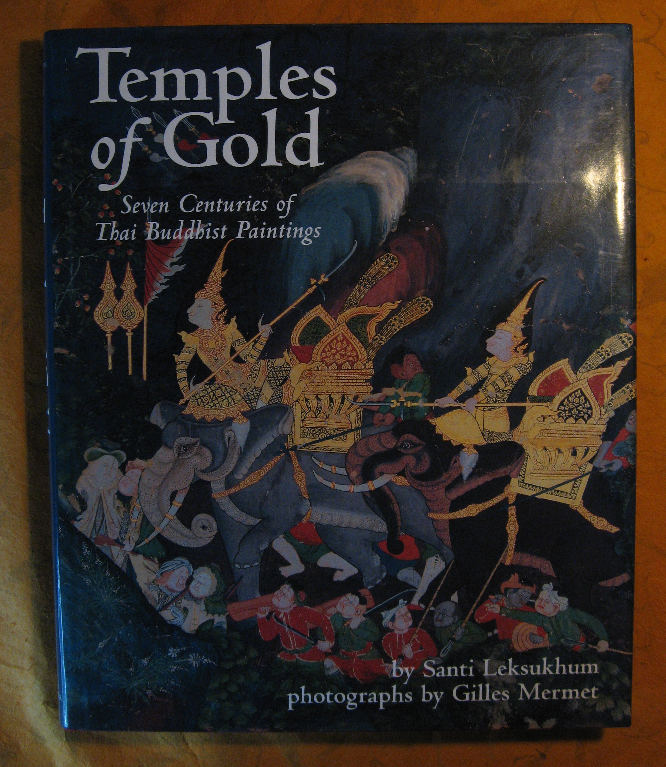 Image for Temples of Gold: Seven Centuries of Thai Buddhist Paintings
