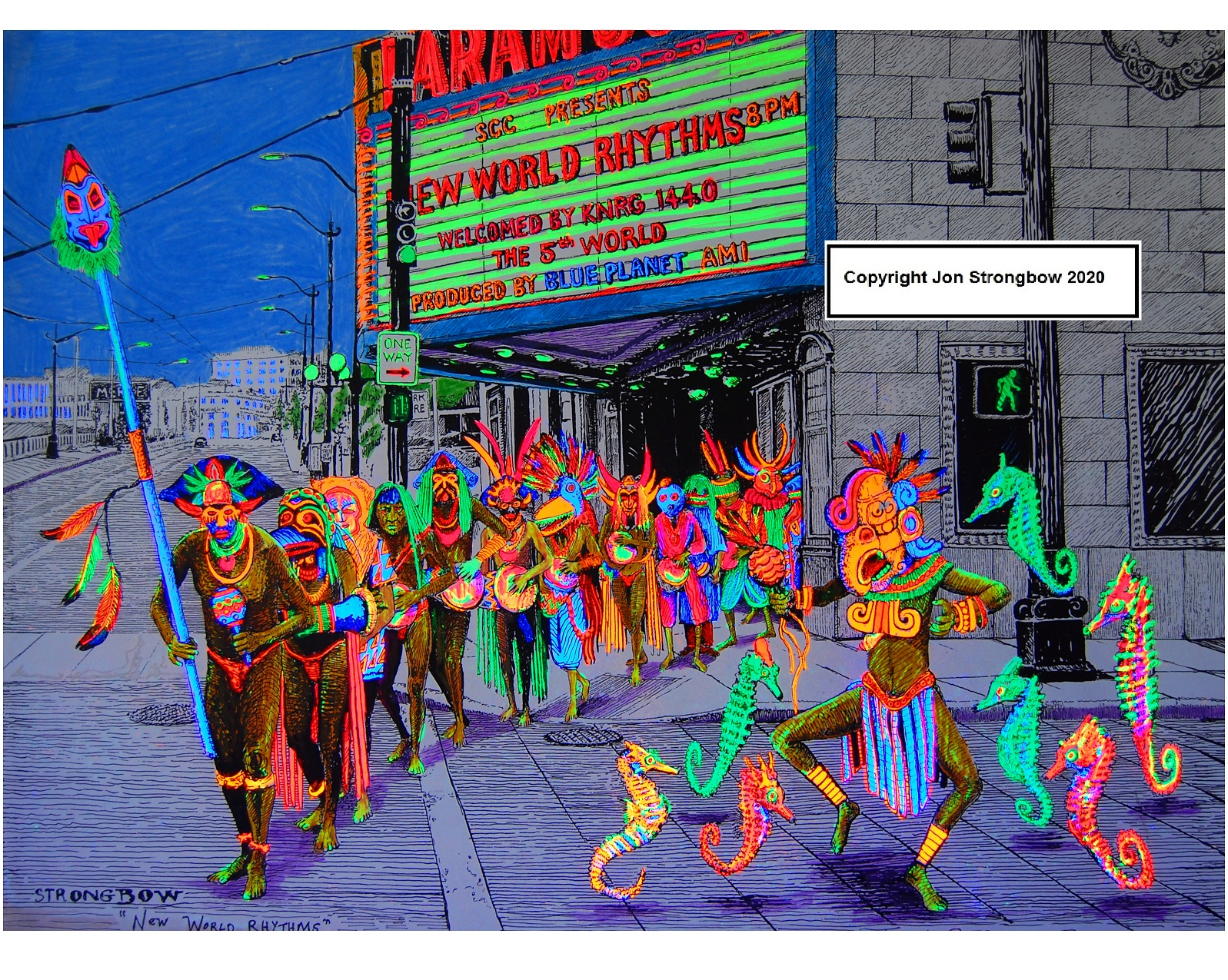 "Image for New World Rhythms (8""x10"" Color Print)"