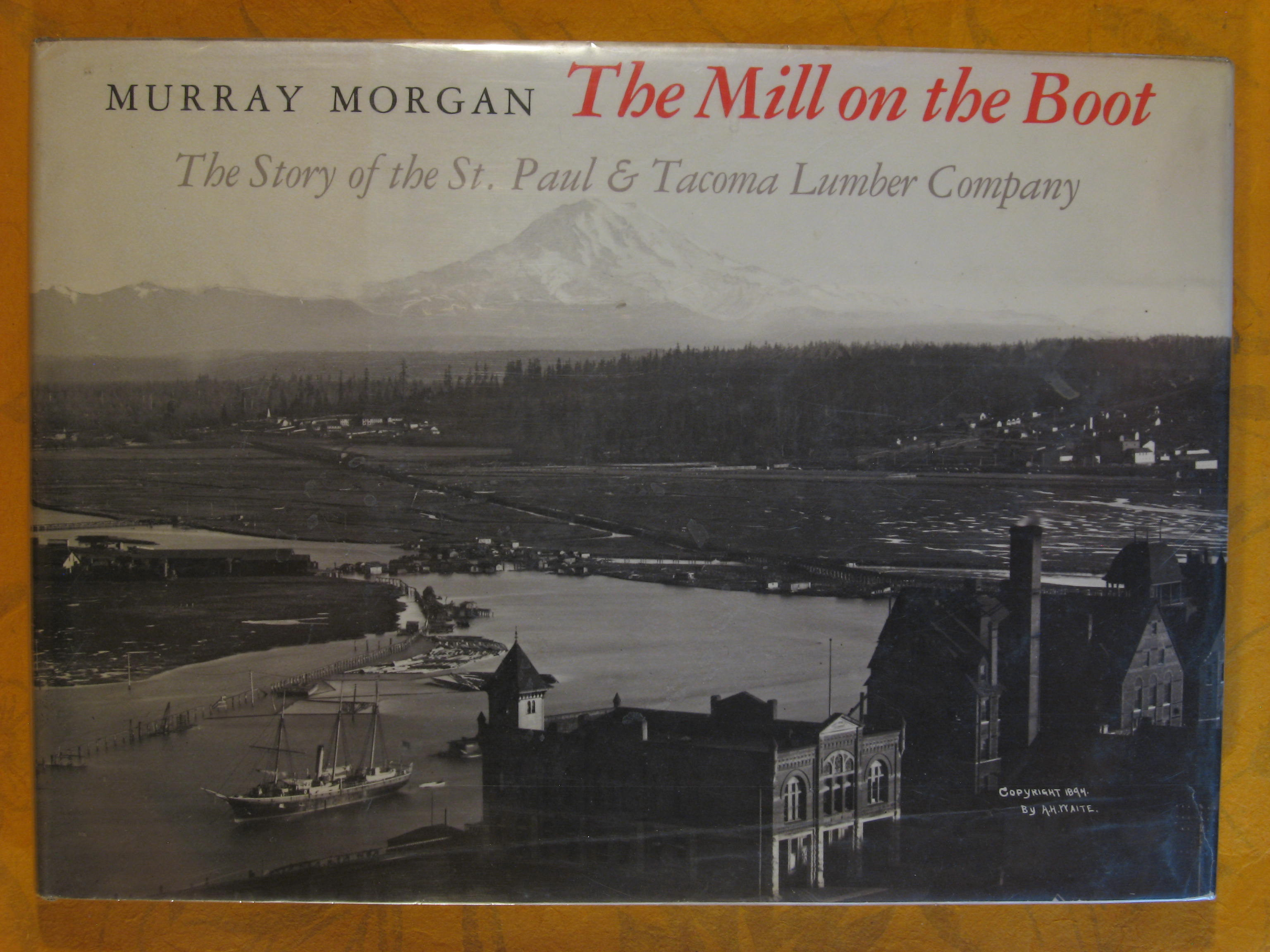 Image for The Mill on the Boot: The Story of the St. Paul and Tacoma Lumber Co.